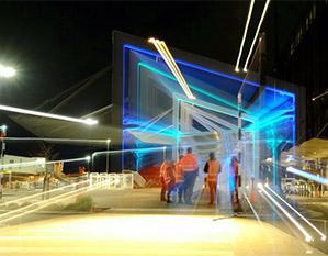 Christchurch Airport Lighting Walkway